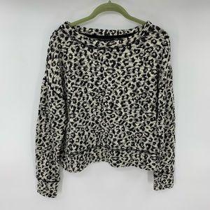 Banana Republic Long Sleeve Animal Print Shirt Top